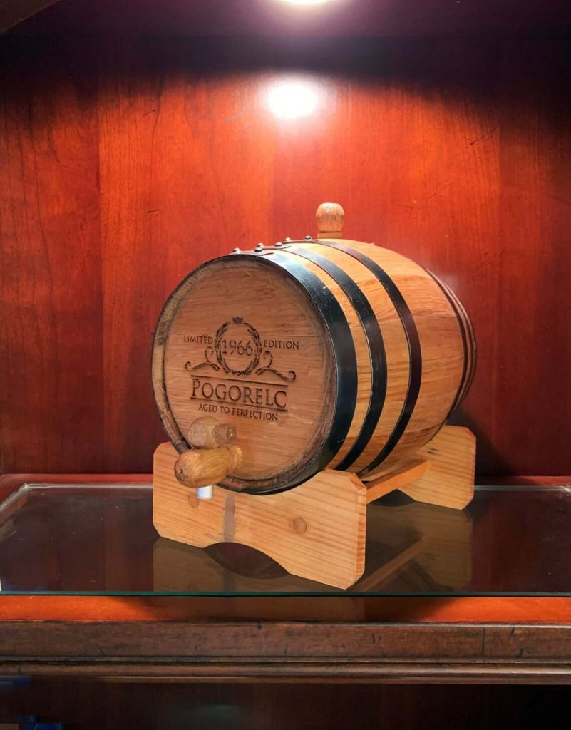 Personalized Whiskey Aging Barrel