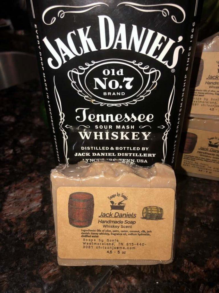 Handmade Whiskey Soap - Jack Daniel's Soap