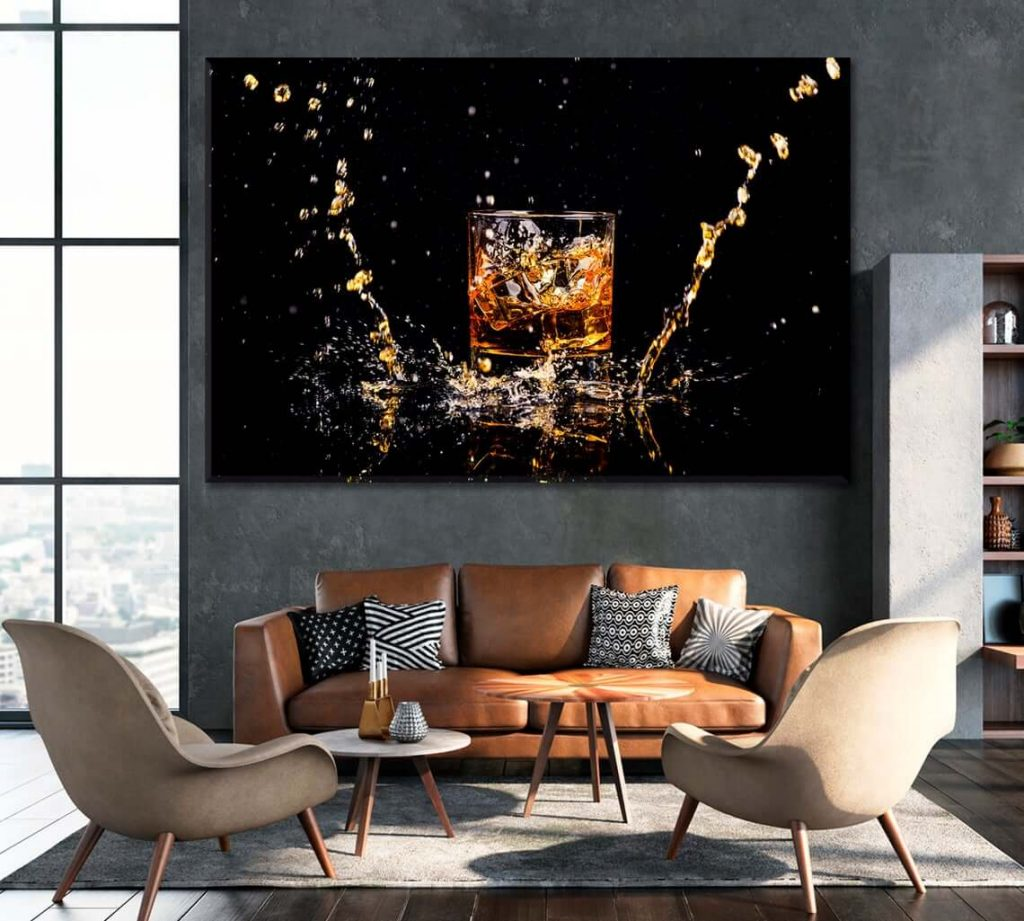 Whiskey Poster - Whiskey Wall Art