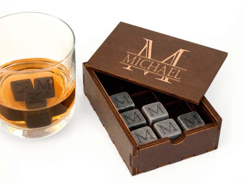 Personalized Whiskey Stones
