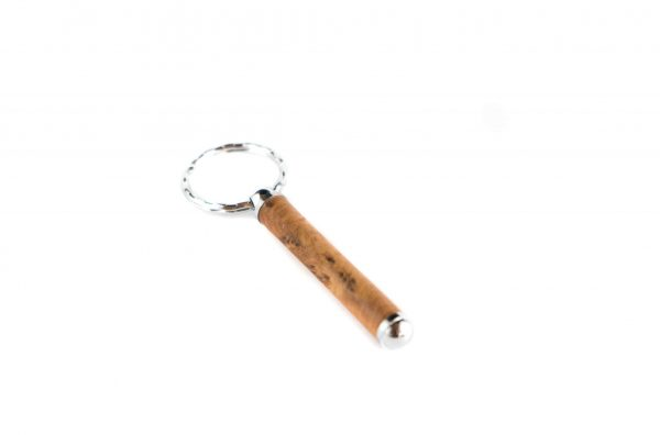 Handmade Thuya Keychain - Luxury Wooden Keyring