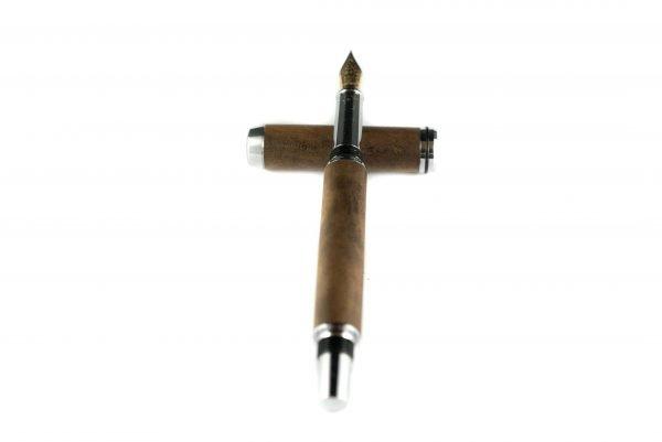 Imbuya Burl Fountain Pen - Personalized Luxury Fountain Pen