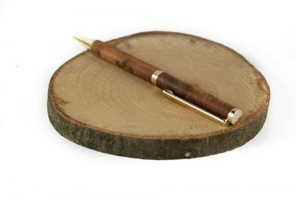 Wood Writing Pen - Handmade Thuya Pen - Personal Writer Gift