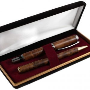 Luxury Pen Gift Set - Thuya Pen Gift Set