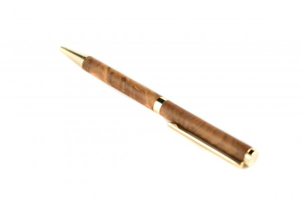 Thuya Wooden Ballpoint Pen - Unique Writing Instrument