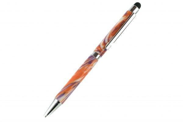 Purple Orange Waste Pen - Luxury Recycled Pen