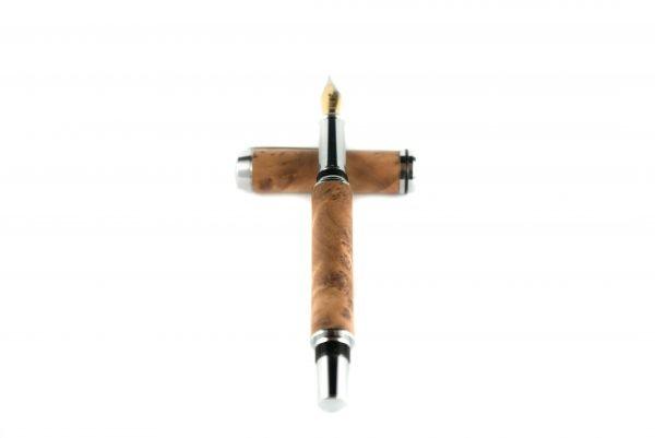 Luxury Wooden Fountain Pen - Thuya Fountain Pen