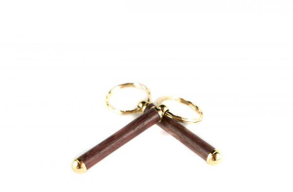 Luxury Wooden Keychain - Sustainable Wooden Gift