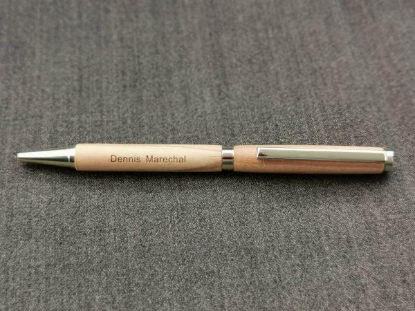 Personalized Wooden Ballpoint Pen - Unique Gift
