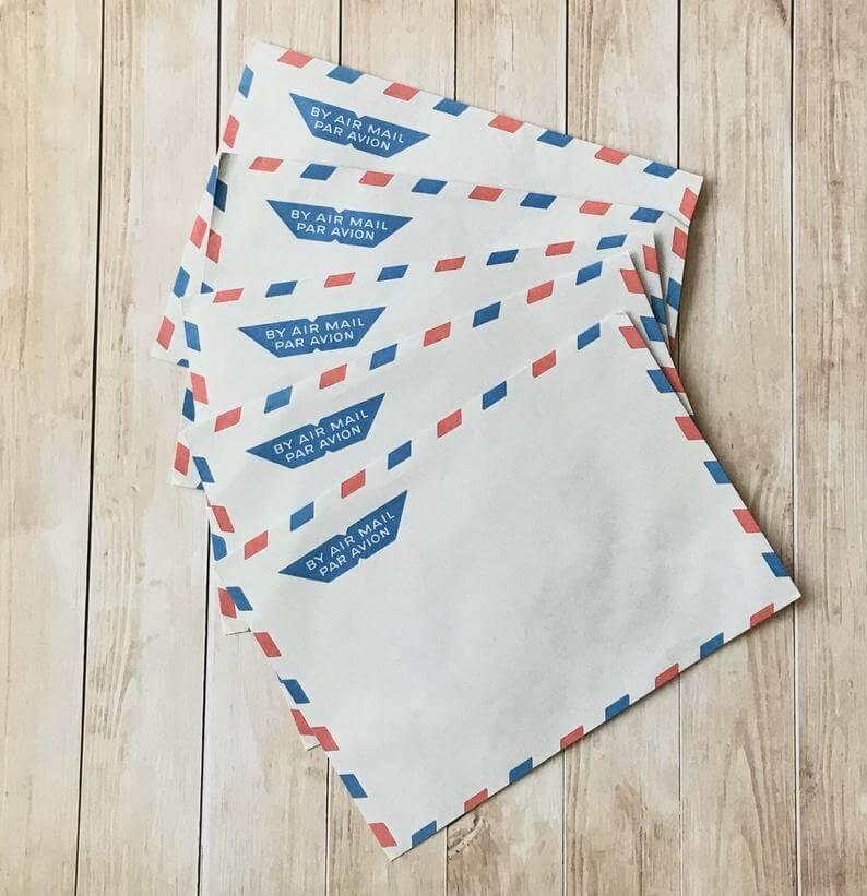Vintage Envelopes - Snail Mail Envelopes