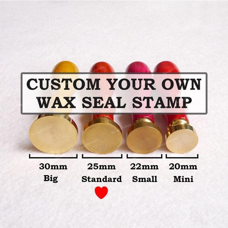 Custom Wax Stamp - Personal Wax Stamp