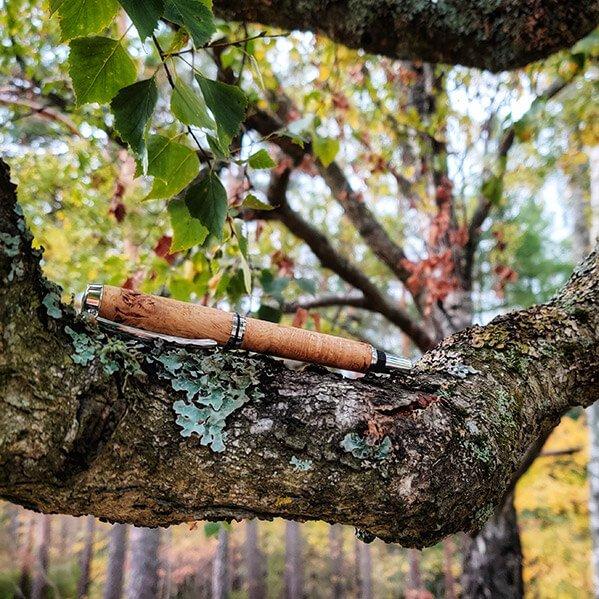 Eiken vulpen Burl door Wooden Gifts and More