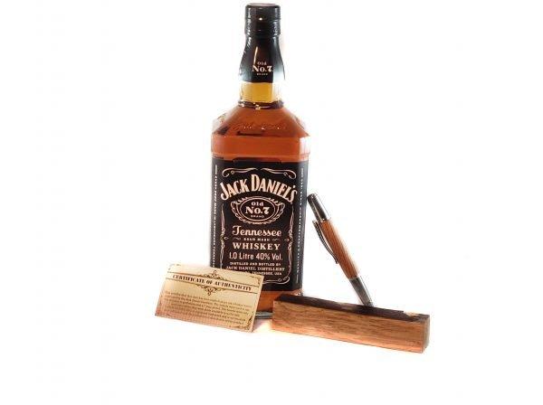 Jack Daniel's Whiskey Barrel Pen - Handmade Luxury Whiskey Pen