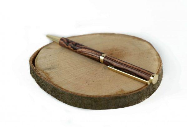 Eco Wooden Ballpoint Pen - Colourful Pen