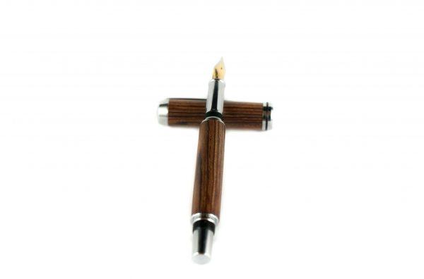 Luxury Wooden Fountain Pen - Mexican Cocobolo Fountain Pen