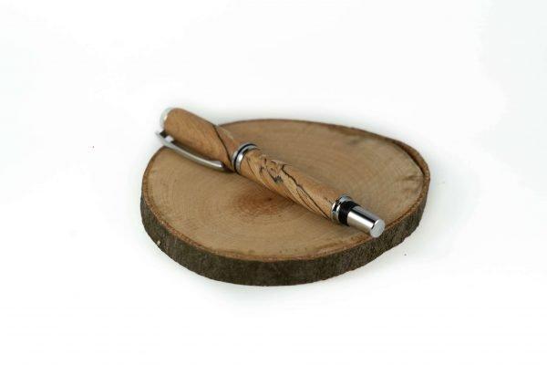 Wood Fountain Pen - Beech Fountain Pen - Ergo Pen