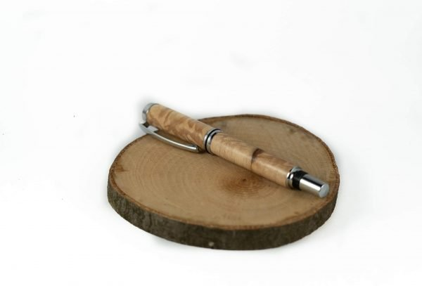Maple Pen - Eco Fountain Pen - Sustainable Personalized Gift